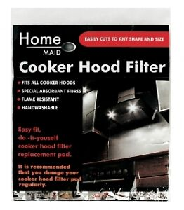 UNIVERSAL COOKER HOOD GREASE FILTER EXTRACTOR FAN - CUT TO FIT - 57CM X 47CM