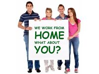 Immediate start. Home Based P/T or F/T. Flexible hours. Great income. Amazing incentives