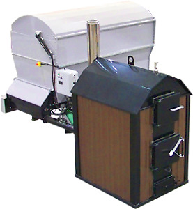 Portage and Main B500 Commercial Chip and Pellet Boiler