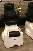 Pedicure Salon Spa chairs on sale, Pipeless $1600 and up.