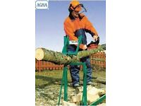 AGMA V Smart Log Holder Saw Horse