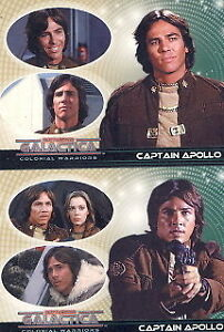 2006 BATTLESTAR GALACTICA COLONIAL WARRIORS 72 CARD SET