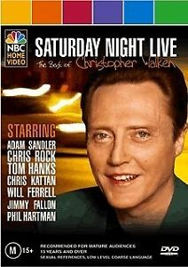 Saturday Night Live - Best Of Christopher Walken (DVD, 2005)