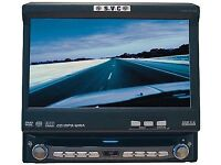 "Single din Car stereo Dvd player 7"" Screen"