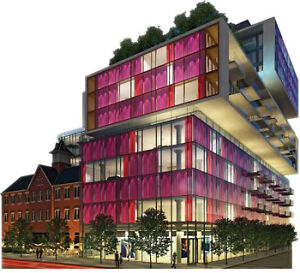 Fashion House underground parking with direct building access