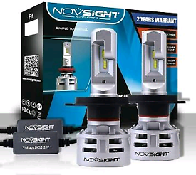 NOVSIGHT H4 10000LM Car 6500K LED Headlights