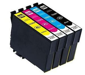 Epson 288XL Compatible Ink Cartridge Combo High Yield BK/C/M/Y starting at $39.89