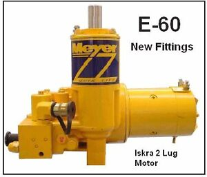 E60 myers snow plow pump heavy duty