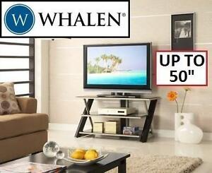 """NEW WHALEN TV 3-IN-1 CONSOLE STAND FITS UP TO 50"""" TVS 107062670"""