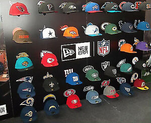 NFL Hats different sizes