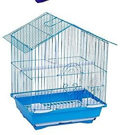 Brand new budgie cage with food