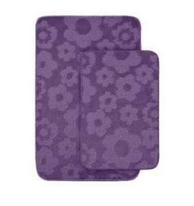 Purple Flower Rugs