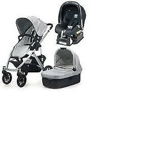 Uppababy Vista Stroller Bassinet Car Seat Adapter 3in1