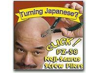 Neji-saurus SCREW REMOVAL PLIERS (remove a gnarled screw quickly)