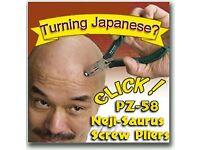 Neji-saurus pz-58 screw removal pliers - remove a ruined screw quickly
