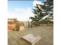 Large double room in 3 bed, 2 bath flat on Chiswick High Road in Chiswick to share with two women