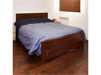 Malm Ikea bed + Mattress