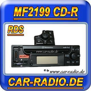 Mercedes Audio 10 CD MF2199 abnehmbares Bedienteil