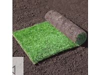PREMIUM QUALITY GARDEN LAWN TURF GRASS £2.99 PER SQUARE METRE ROLL FRESHLY HARVESTED MACCLESFIELD
