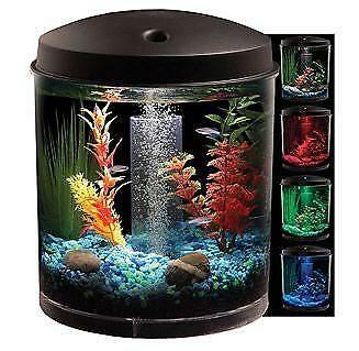 Round fish tank ebay for Fish tanks for sale ebay