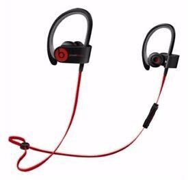 Beats Audio Wireless Earphones - Like new condition