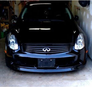 2003 Infiniti g35 brembo brakes 6speed black on black coupe