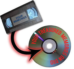 Dorval Electronics Video Transfer (VHS to DVD)