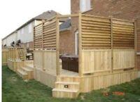 Custom decks and fences..