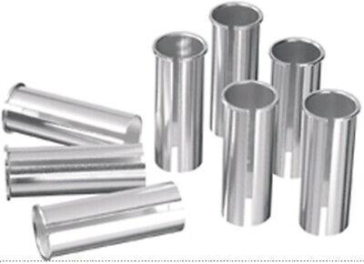 27.0 27.2mm MTB Ergotec 300mm Aluminium Straight Seat Post Silver in 25.4