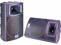 PA System Passive 1-pair 350 Watts 8 ohm 2-way speakers P Audio A-Series