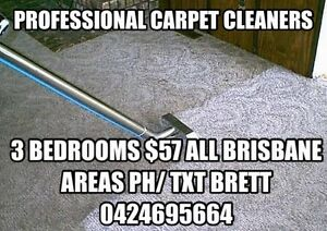 CARPET CLEANING $57 for 3rooms ALL BRISBANE AREAS Indooroopilly Brisbane South West Preview