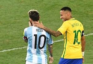 Brazil vs Argentina - 4 tickets Richmond Yarra Area Preview