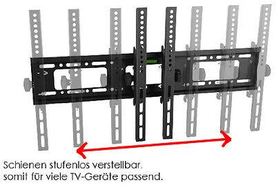 Bei einigen Halterungen kann man die VESA-Weite entsprechend auseinander- oder zusammenstellen.