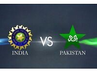 India Vs Pak ICC champion Trophy 1 Adult Silver Ticket