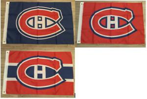 Drapeaux des Canadiens