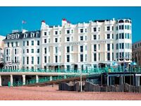 Receptionist required for Queens Hotel Brighton (Maternity Cover/Full time)