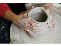 """Last minute spaces **WHEEL POTTERY"""""""" 2.5 hours Sunday 28th 1.30- 4PM"""