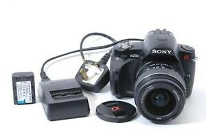 Sony A230 with 18-70 super zoom