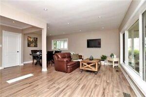 3 bedroom main floor unit on East Hamilton Mountain for rent