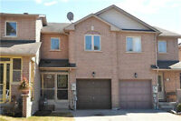 3+1 Bedroom Pickering Townhouse For Sale Fin. Bst. LR Fireplace