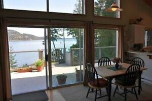 Pender Island 2 Bedroom Oceanfront Cottage