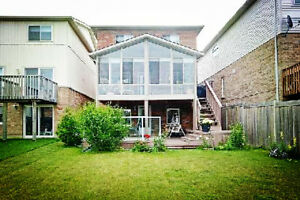 Sep. 1st Ground Level Studio in detached house in North Oshawa
