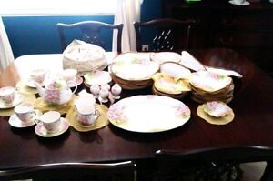 "New 54 pc. Royal Albert ""Blossom Time"" Pattern set"