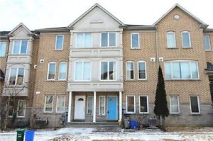Richmondhill/Markham Leslie/Hwy7 CommerceValley 4 BedTH for Rent