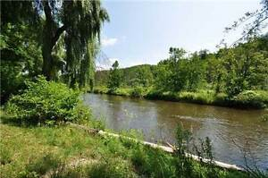 Build Your Dream Home Backing Onto The Credit River!!