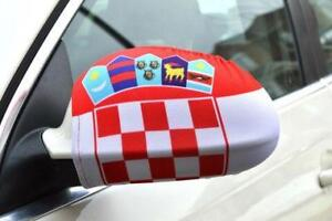 World Cup Gear CROATIA, FRANCE, GERMANY, ENGLAND Mirror Flags
