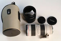 canon EF 70 200 2.8 IS L USM telephoto lens