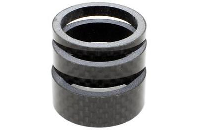 "Wheels Manufacturing 5mm 1-1//8/"" Unidirectional Carbon Headset Spacers 5pk."