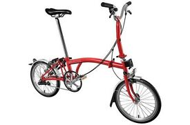 Brompton Folding Bike M3L