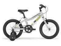 Ridgeback boys bike MX16 Silver